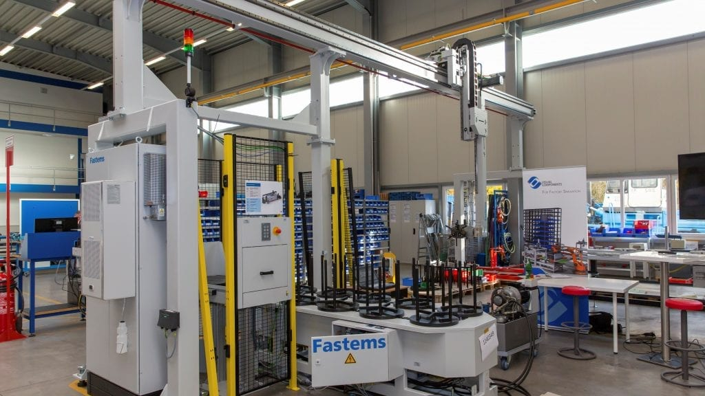 CNC automation for lathes with excellent accessibility