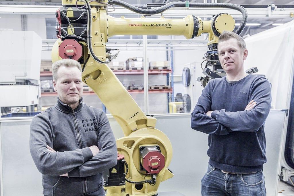 Konepaja Sihvo verfügt über langjährige und erfolgreiche Erfahrung mit Automatisierungslösungen von Fastems.