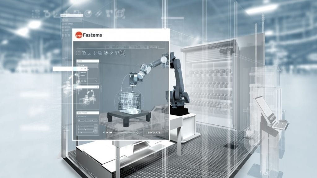 Simulation services for Robotized Finishing Cell (RFC)